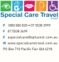 special care travel